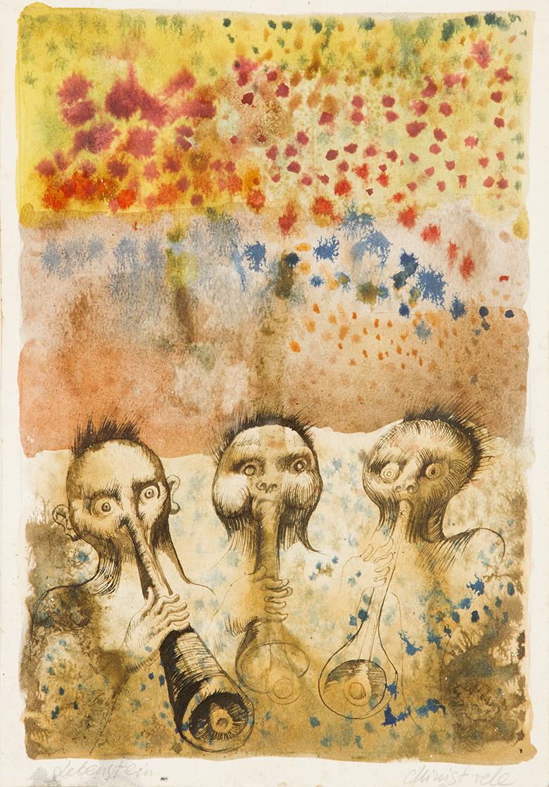 Ryszard Grzyb, Bezmyślność i trawienie, 1984